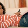 black-female-teen-texting
