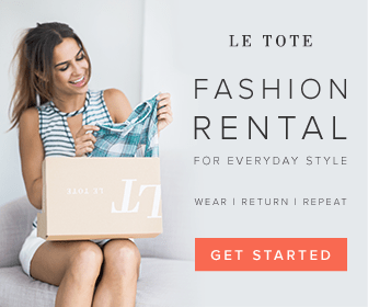 Le Tote Monthly Fashion Rental
