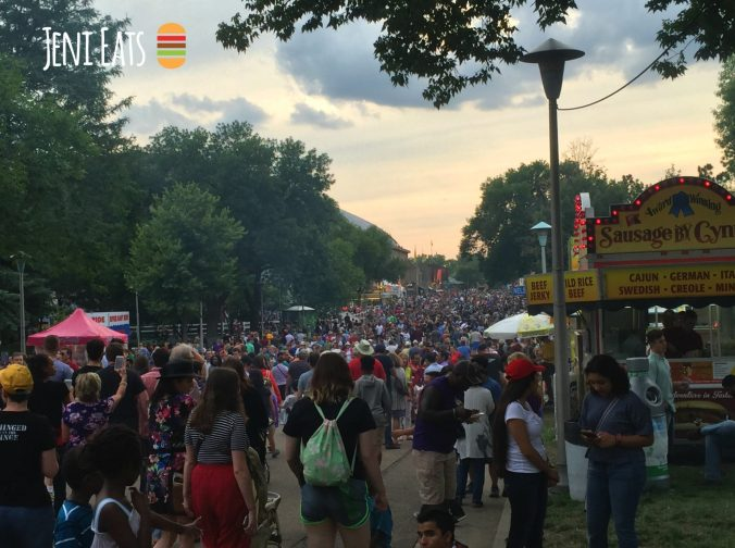 MN State Fair crowd