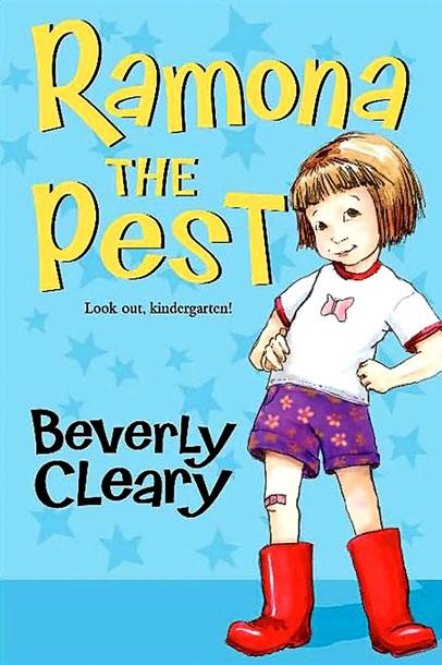 Realistic Fiction book # 1 Ramona the Pest \u2013 jeniferstradling