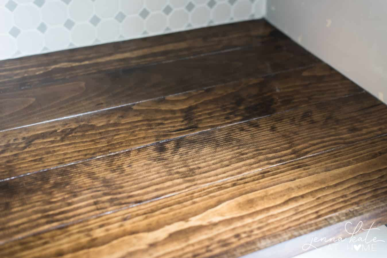 Https Jennakateathome Com Diy Wood Countertop