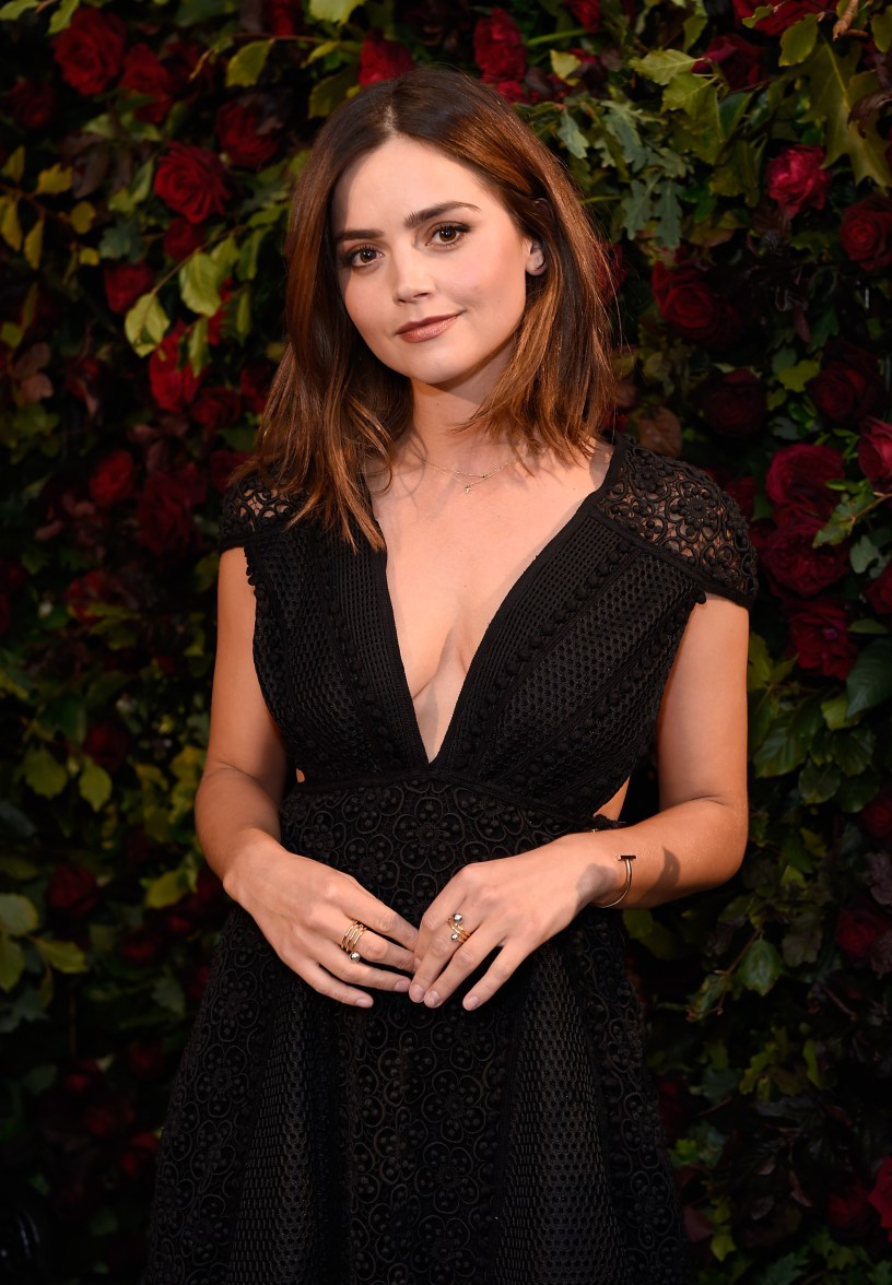 New Smoking Girl Wallpaper My Burberry Black Launch My Jenna Coleman