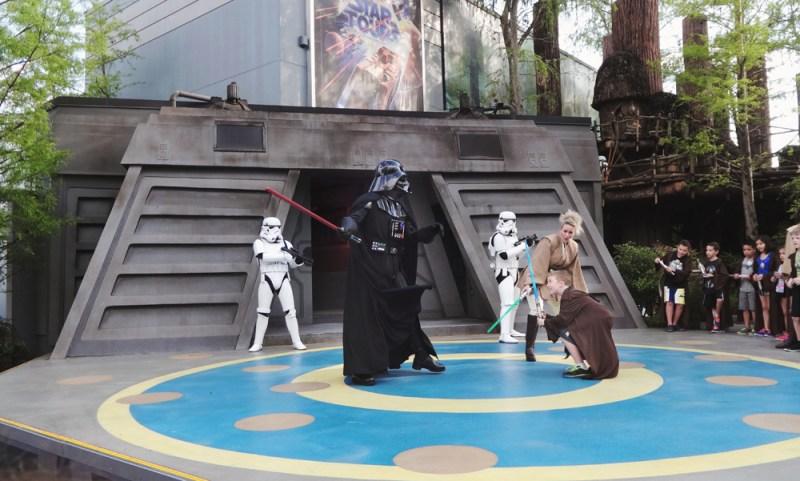 Fighting Darth Vader