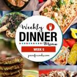 Weekly Dinner Menu: Week 5   Jennifer Cooks