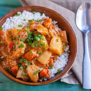 Slow Cooker Chicken Massaman Curry | Jennifer Cooks