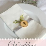 Wedding Napkin Ideas from JenniferDecorates.com