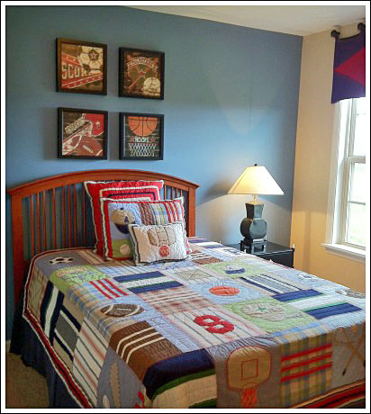 Boys bedroom ideas to help you create a fun room for your for Boys bedroom ideas paint