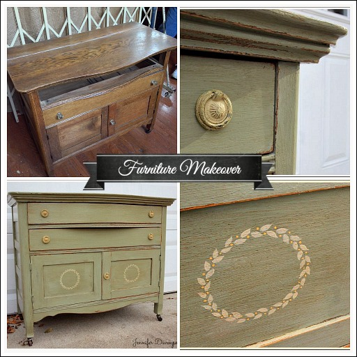 How To Sand Painted Furniture To Make It Look Antique