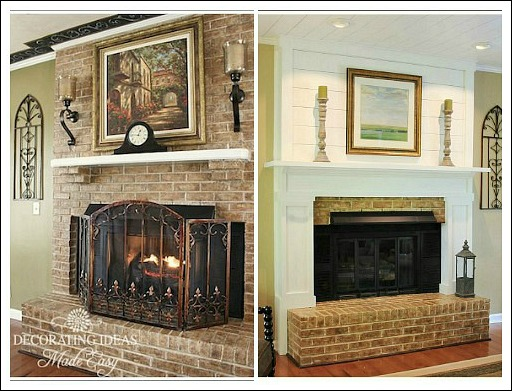 Living room design ideas unique ideas you will love for Fireplace makeover ideas before and after
