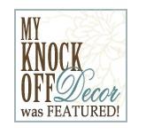 my knock off decor