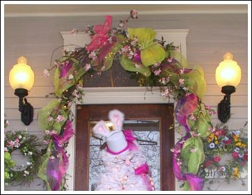 Easter decorating ideas from JenniferDecorates.com