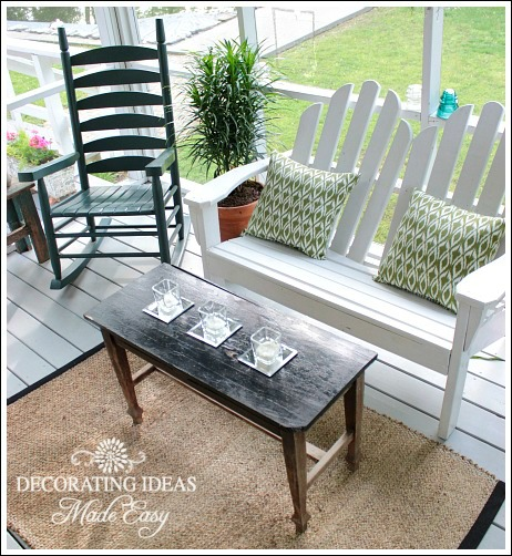 Fabulous Porch Decorating Ideas from Jenniferdecorates.com
