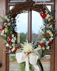 Front Door Wreaths- Make your front door gorgeous!