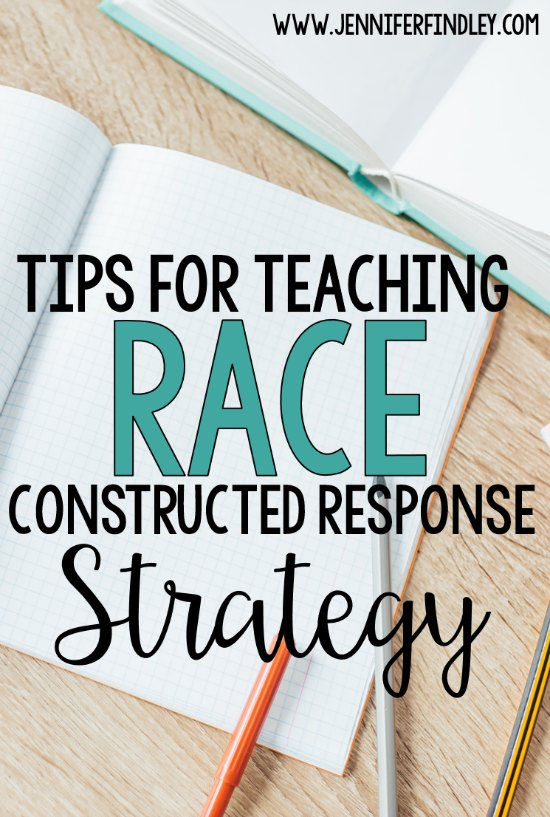 Tips for Teaching RACE Constructed Response Strategy - Teaching with