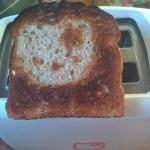 Hello Kitty toast