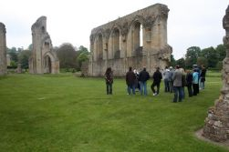 part of Glastonbury Abbey.  Hard to show how big it really was.