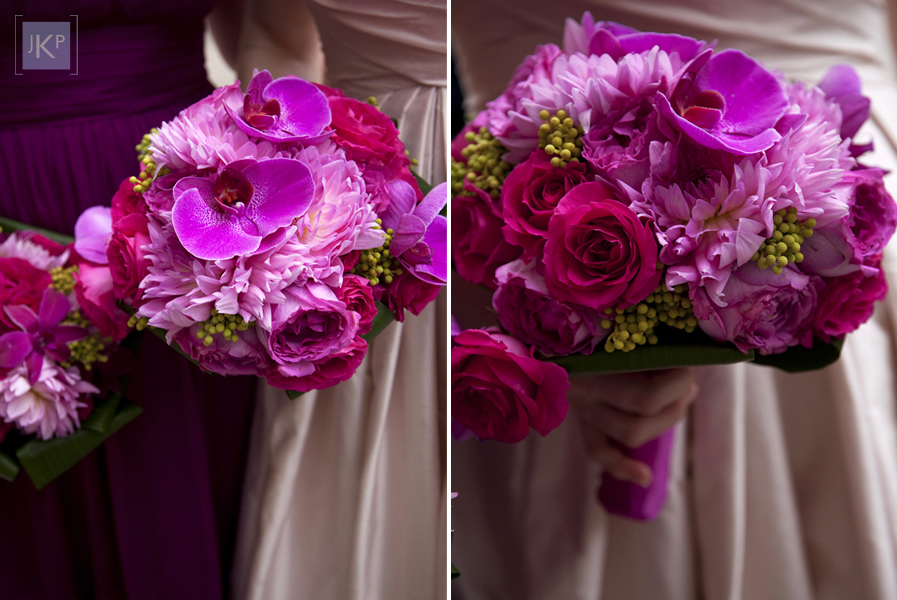 Hot Pink And Black Wedding Flowers - Flowers Healthy - pink black and white weddings