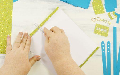 DIY Designer Paper Purse Makes a Gorgeous Gift Bag! - Jennifer Maker - design paper for writing