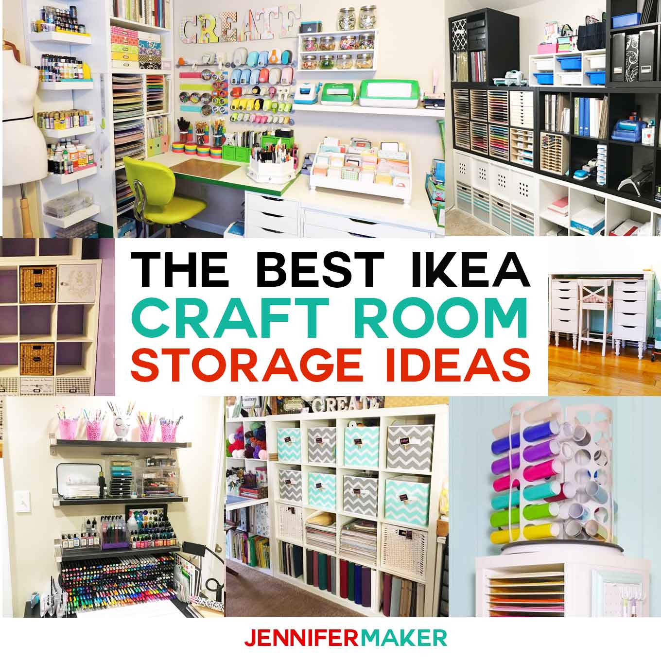 Ikea Box Holder The Best Ikea Craft Room Storage Shelves Ideas Jennifer Maker