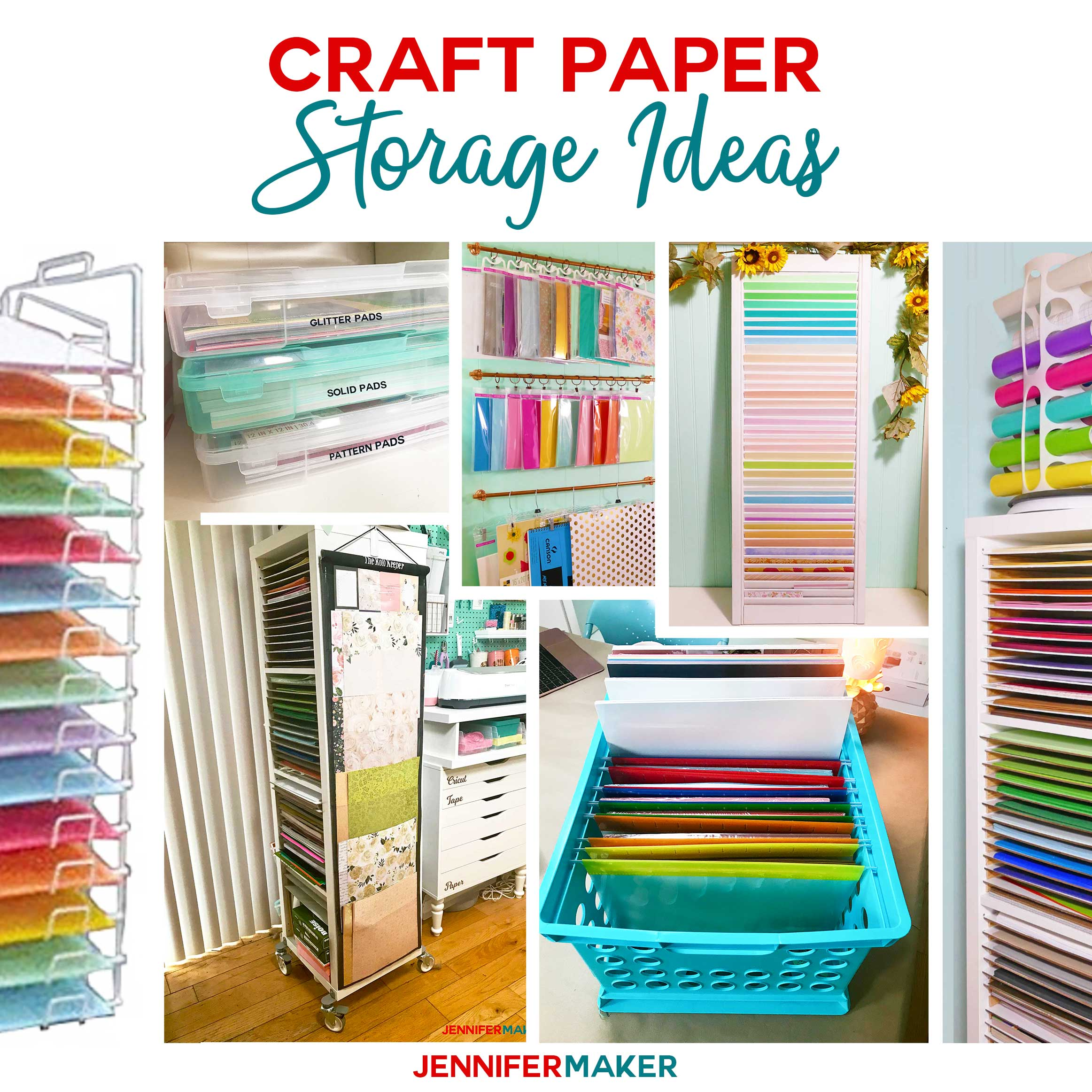 Storage Solutions Craft Paper Storage Ideas The Best Organization Solutions