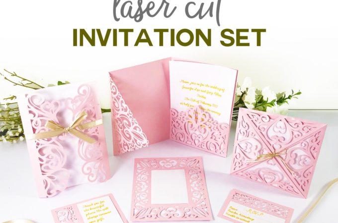 DIY Wedding Invitation Templates - Free \