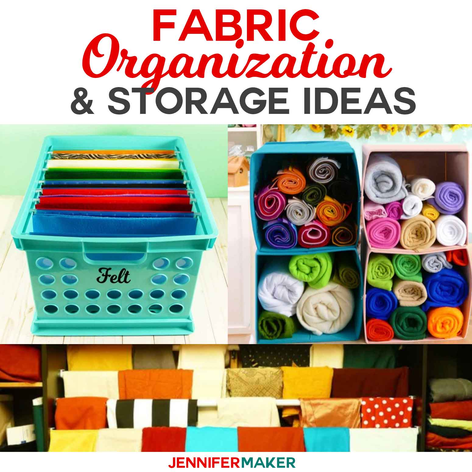 Storage Solutions Fabric Organization Ideas Storage Solutions You Ll Love