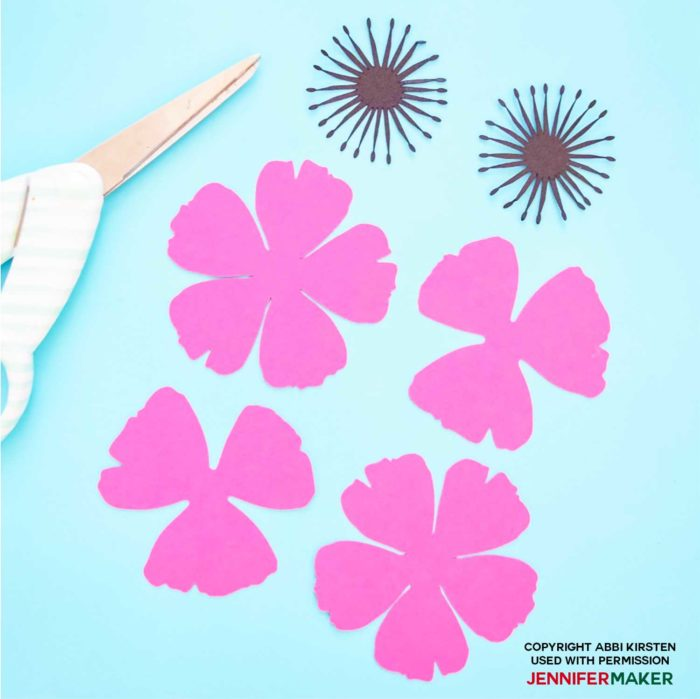 Make Paper Poppies with Free Templates - Jennifer Maker