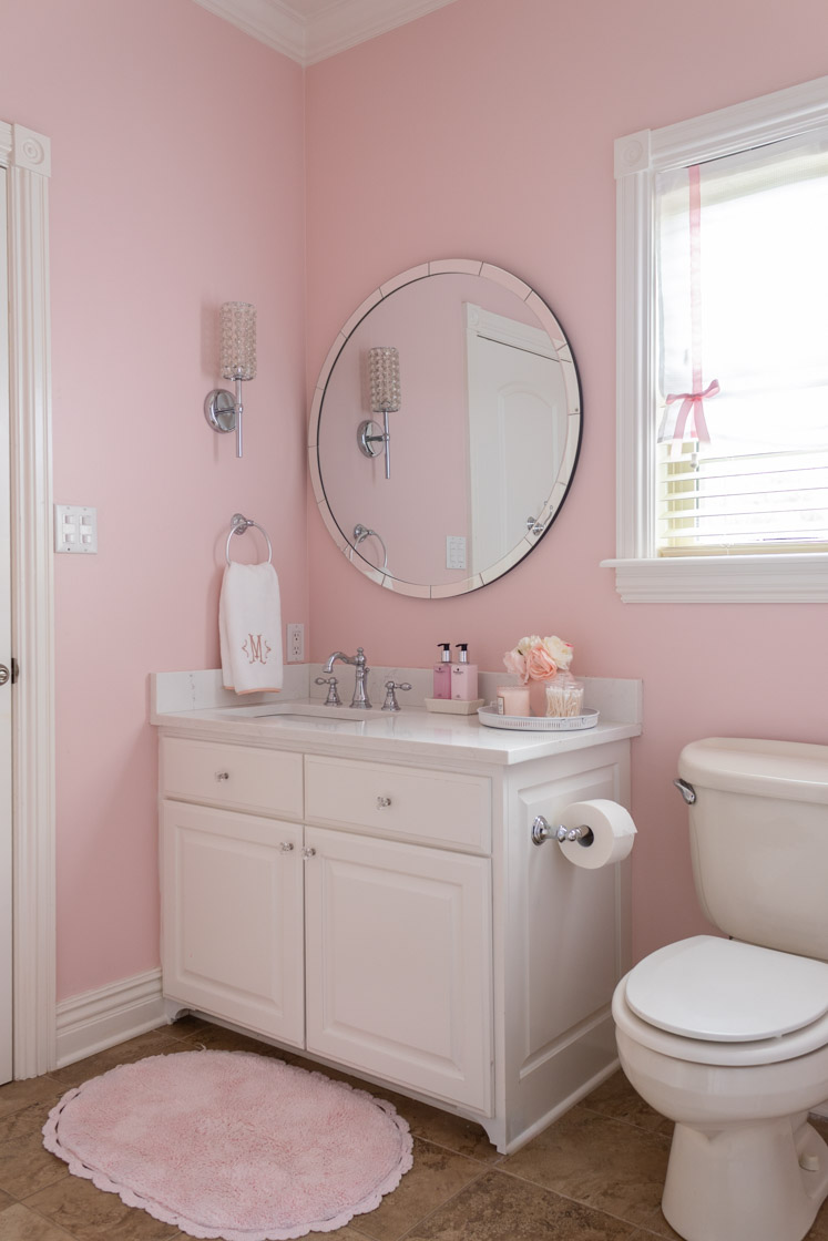 Pink Girls Bathroom Home Design Lifestyle Jennifer Maune