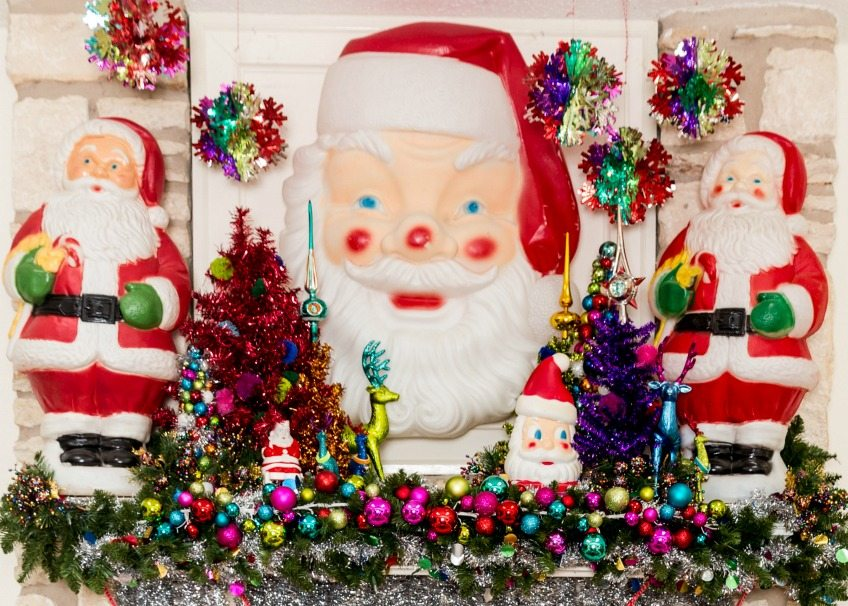 10 Ways to Use Vintage Christmas Blow Molds Into Your Holiday Decor