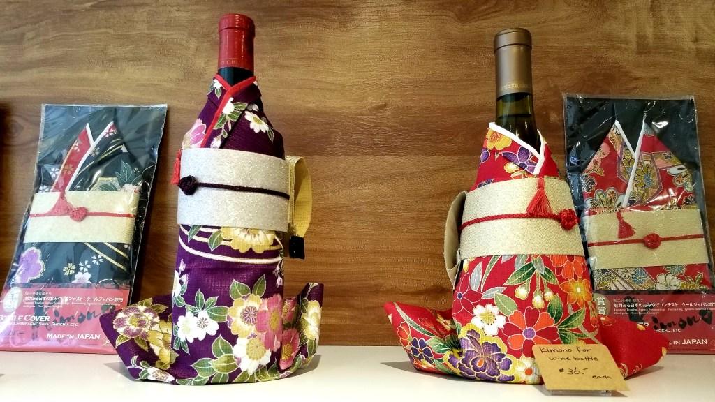 Wine Kimono