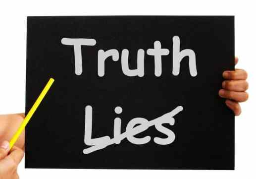 truth not lies board shows honesty Tips To Teach Your Children Not To Lie and Be Honest