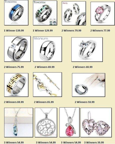 jewlery1 HUGE #Giveaway   30 Winners Over $2000 In Prizes