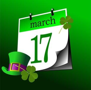 Kozzi-calendar-page-of-st-patricks-day-17-th-of-march-vector-362 X 358