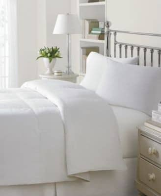 comforter Level 3 Damask Medium Weight White Goose Down Comforter Review