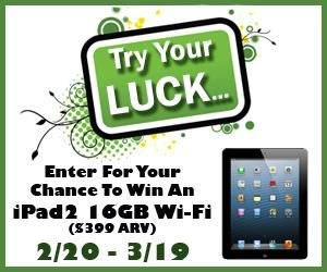 ipad Enter to #Win an iPad 2 - Don't Miss This Fabulous #Giveaway