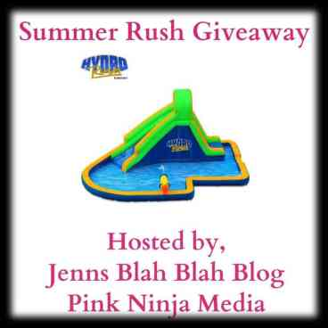 Summer Rush Giveaway Enter to #Win The Summer HydroRush Waterpark #Giveaway