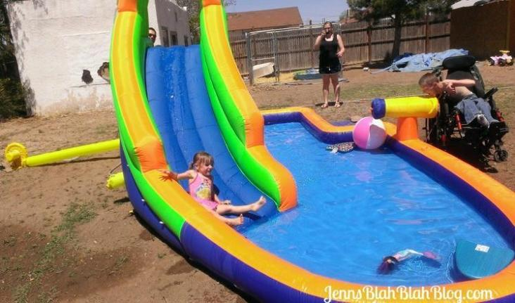 HydroRush Waterpark  Fun for the Whole Family! HydroRush Inflatable Waterpark Rocks HydroRush Waterpark