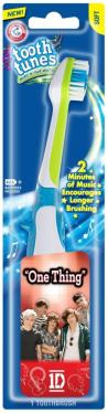 OneDirection OneThing How To Get My Toddler To Brush Her Teeth: Arm & Hammer Tooth Tunes Rock! #sponsored