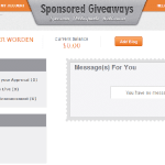 Sponsored Giveaways