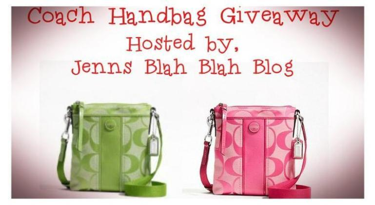 Coach Handbag Giveaway1 Free Coach Handbag Giveaway Sign Ups: Two Winners