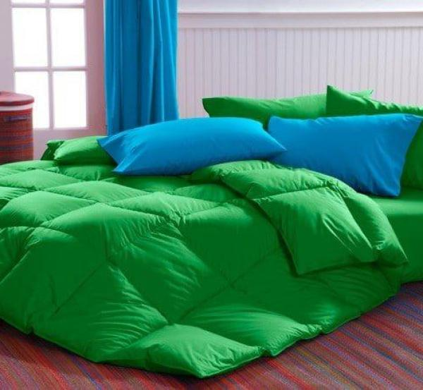Green Comforter Cuddledowns, Vibrant Bedspreads and Comforters - OH MY!