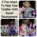 7 Fun Ways To Help Your Toddler With Social Development