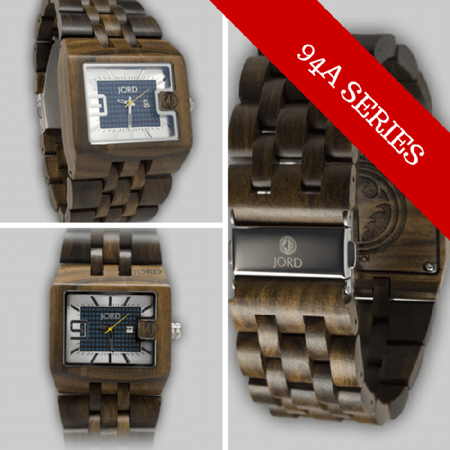 94A Series Wood Watch by JORD 15 Things To Do On Valentine's Day, Plus A Great Gift Idea For Him