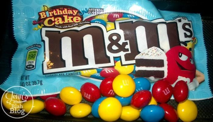 Birthday Cake M&M'S® Brand Chocolate Candie Guess Who Finally Busted Out With The Birthday Cake Flavor?