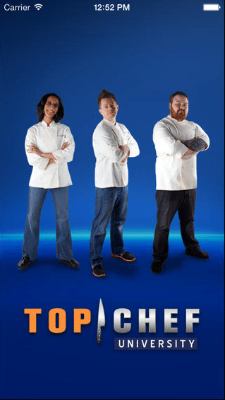 Cooking App  Cooking App To Teach You To Cook Like A Pro: Top Chef University To-Go Cooking App