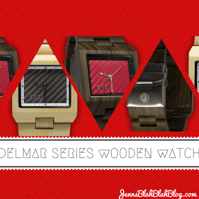 Delmar Series Wooden Watch by JORD 15 Things To Do On Valentine's Day, Plus A Great Gift Idea For Him