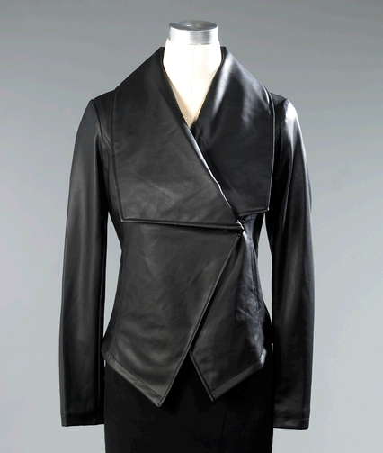 Drape Front Jacket by Shape FX from Spiegel Check Out The Great Fashion, And Amazing Prices At Spiegel!