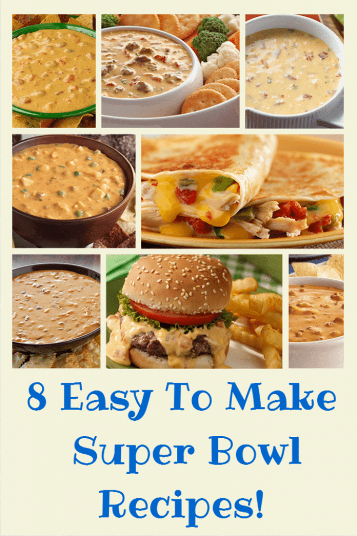 Easy to make Super Bowl Recipes Eight Easy To Make Super Bowl Recipes You Don't Want To Miss