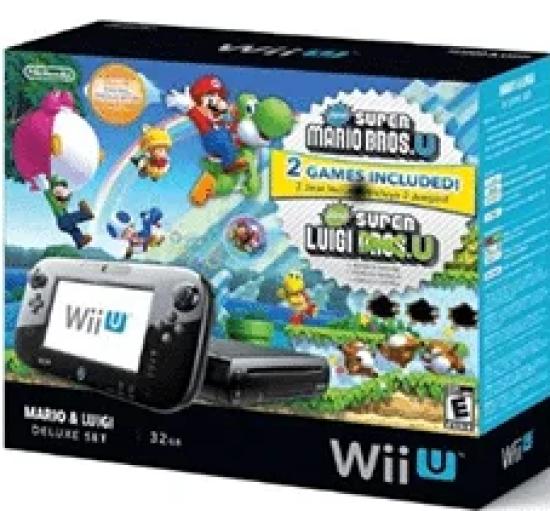 New Super Mario Bros U and New Super Luigi U Giveaway: Enter To #Win A Wii U Deluxe Set!