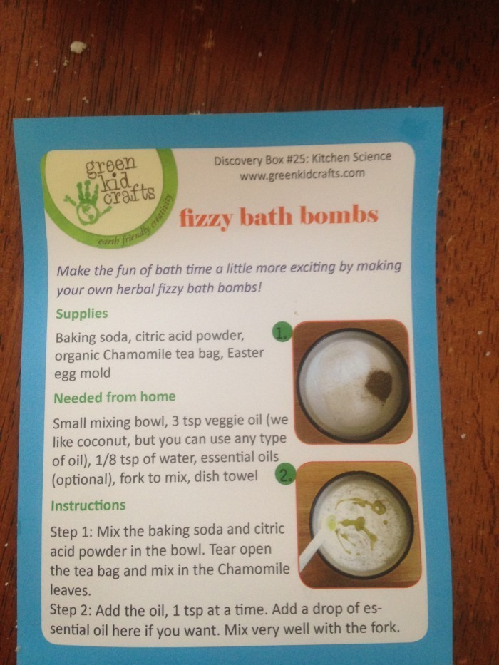 IMG_0107  The Green Kids Craft Box Provides Fun and Learning IMG 0107 e1397539914664